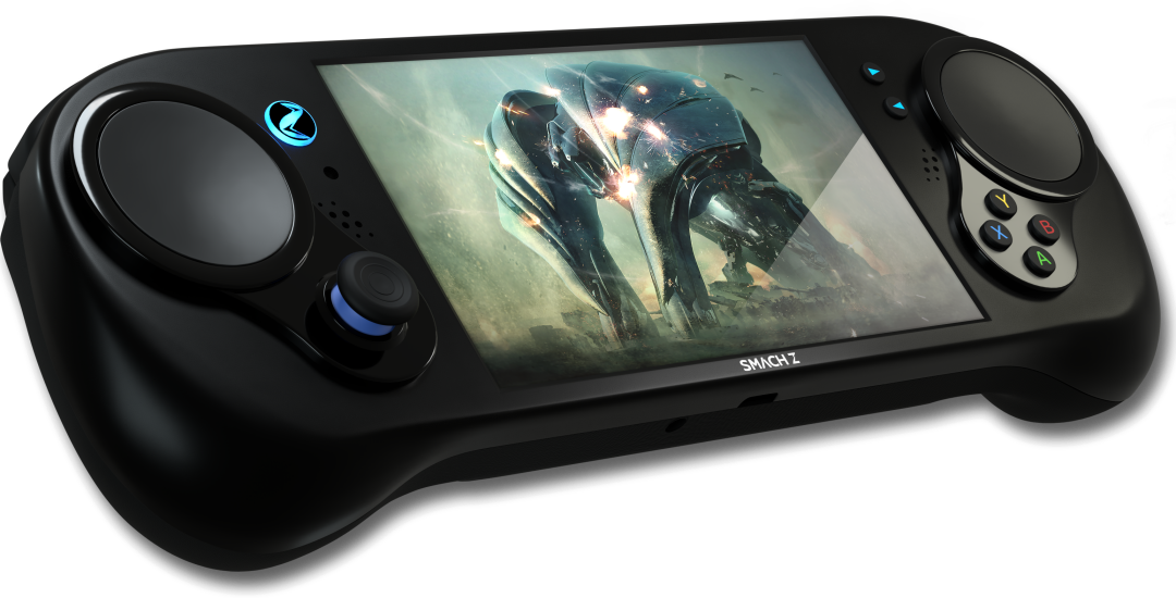 SMACH Z - The most powerful handheld console for playing AAA PC games